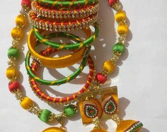 Silk Thread Jewellry