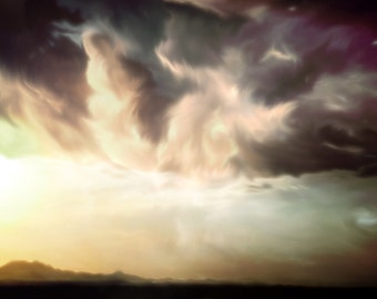 Cirro, II | Clouds | Horizon | Storms | Painting | Digital Painting