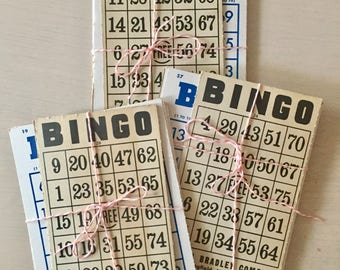 Vintage Bingo Cards - Crafts - Smashbook - Journals