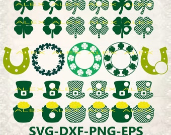 70% OFF, St Patrick's Day SVG, Clover SVG files for Cricut, St Patricks Day Svg Files, Dxf, Png, Eps File, Clipart Digital Download Files