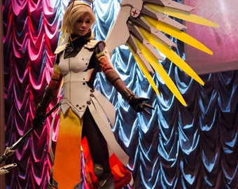 MERCY cosplay costume from Overwatch