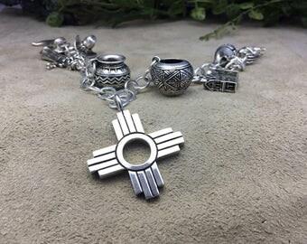 Sterling Silver Zia Pendant