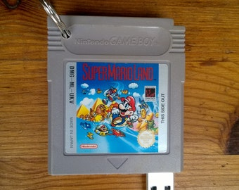 Game Boy USB Flash Drive keyring - Super Mario Land  USB 2.0 512GB
