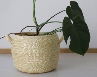 Straw Basket, home decoration, handmade, eco friendly, decor, storage basket, laundry basket, toy storage.