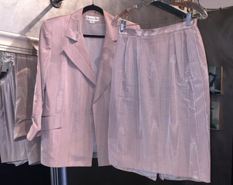 1980s Christian Dior suit