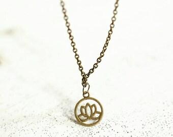 Lotus Flower necklace - Lotus Flower necklace