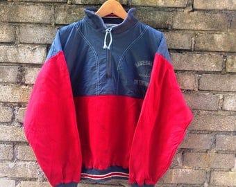Vintage Mizuno BaseballFan Sweatshirt jacket Size Large