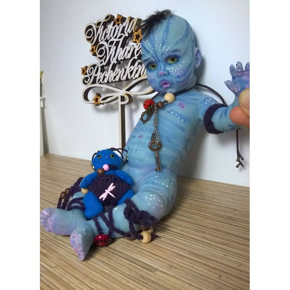 Baby Avatar 2: Avatar Silicone Baby Doll 11 In By Victoria