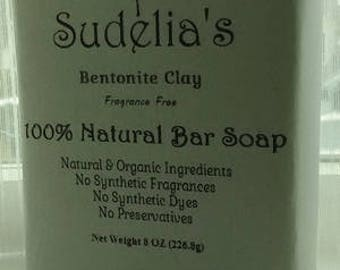 Bentonite Clay bar soap