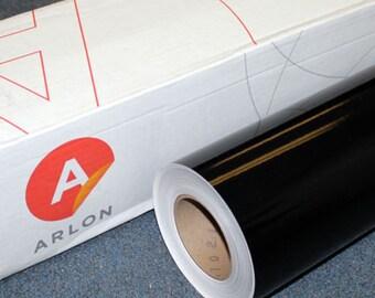 """Black Arlon 5000 12"""" x 5' (5 feet) Roll * Sign Vinyl * Decal Vinyl"""