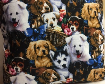 Doggies!! Pillow 14 x 14 (#010)