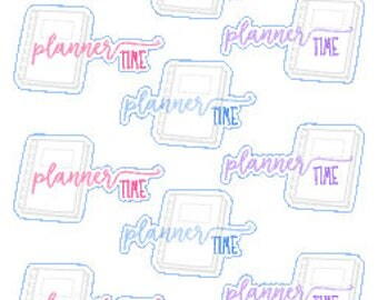 Planner Time // Stickers // Planner // Happy Planner // Diary