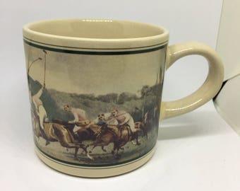 Vintage Japanese Polo Mug