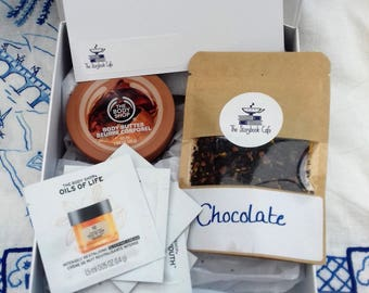 Chocolate Tea and Cocoa Butter Pamper Gift