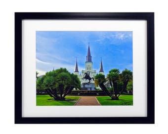 Saint Louis Cathedral – New Orleans, Louisiana - Framed Photography