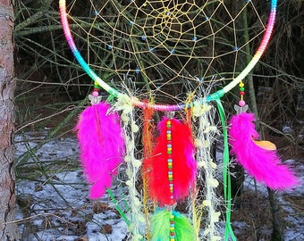 Sweet dream catchers, wall decoration, Kinderzimmerdeko, Dreamcatcher