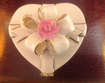 Vintage Lenox Treasures of the Heart Exclusive Edition Trinket Box