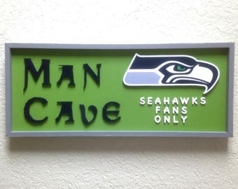 Seahawks Man Cave Sign (#120)