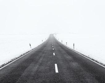 """FineArt print """"simplicity in winter III"""""""