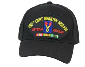 196th Light Infantry Brigade Vietnam Veteran Cap