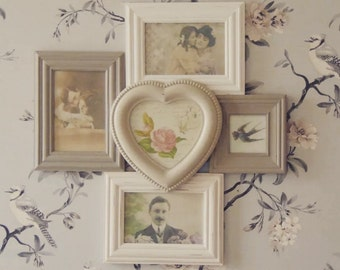 Celeste Heart Multi Photo Frame - SB/AD158