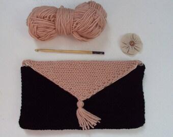 Woman wallet / purse to crochet