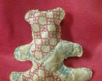 Quilted  Bear Ornaments or Bowl Fillers
