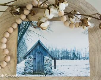 Fine Art Photo, Barn Photo, Barn Photography, Winter Barn, Winter Photo, Fine Art Print, Barn
