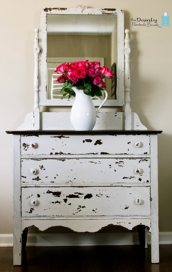 Sold Example Painted Furniture Custom Order Shabby Chic