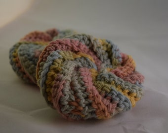 Face Scrubbies Set - Pastel