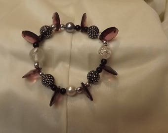 Flirty Purple Bracelet