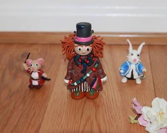 Alice in Wonderland - Fimo