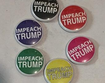 "Impeach Trump 1"" pin/magnet"