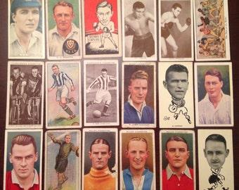 Sport Themed Cigarette Cards