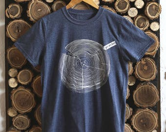 You are Here (Blue) | Tee