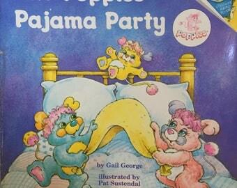 1985 Random House Books The Popples Pajama Party!