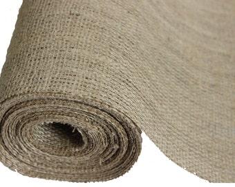 Burlapper burlap, 12 inch x 10 yards, natural 12 oz jute fabric roll