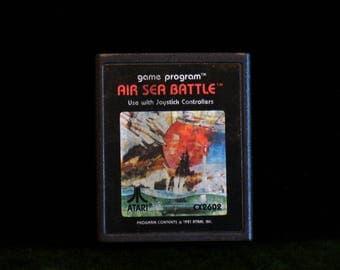 Vintage 1981 Atari 2600 Air Sea Battle Video Game Cartridge