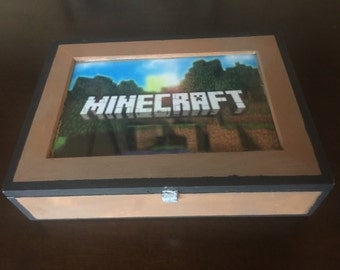 Minecraft Pencil Box