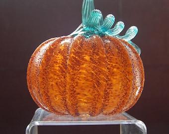 Glass Signature Pumpkin