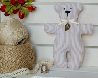 "Teddy, 5"", interior toy, soft toy in style a tilde"
