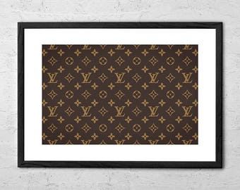 Louis Vuitton - Louis Vuitton Texture - Louis Vuitton Poster - Louis Vuitton Wall Art - French Fashion Wall Decor - Louis Vuitton Fashion