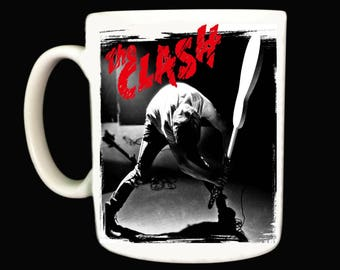 The Clash Mug .. Mugs . Punk