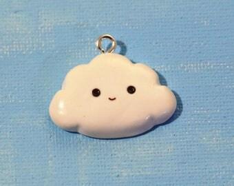 Mr. Cloud - Polymer Clay Charm