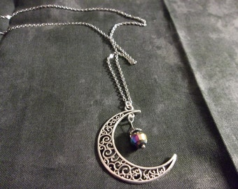 Celtic Moon Necklace