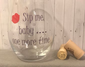 gifts for her, birthday gifts for her, funny wine glasses,