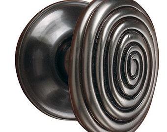 Spiral Doorknob Passage Set