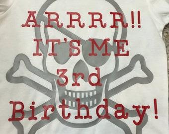 Arrrr! It's me Birthday! Toddler T-Shirt