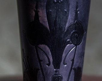 Dice Cup  Art Deco , antique black