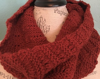 Hand made Ripples and ridges cowl